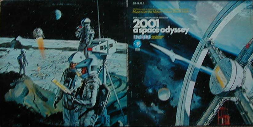 Albumcover 2001 A Space Odyssey - Music From The Stanley Kubrick Motion Picture Sound Track
