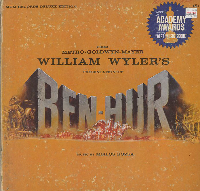 Albumcover Ben Hur - Music From MGM William Wylers Presentation of Ben Hur (DE LUXE EDITION)