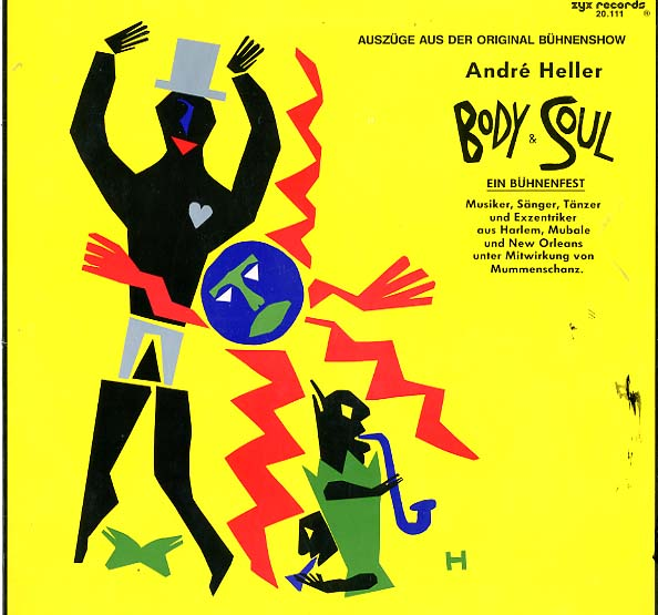 Albumcover Andre Heller - Body and Soul