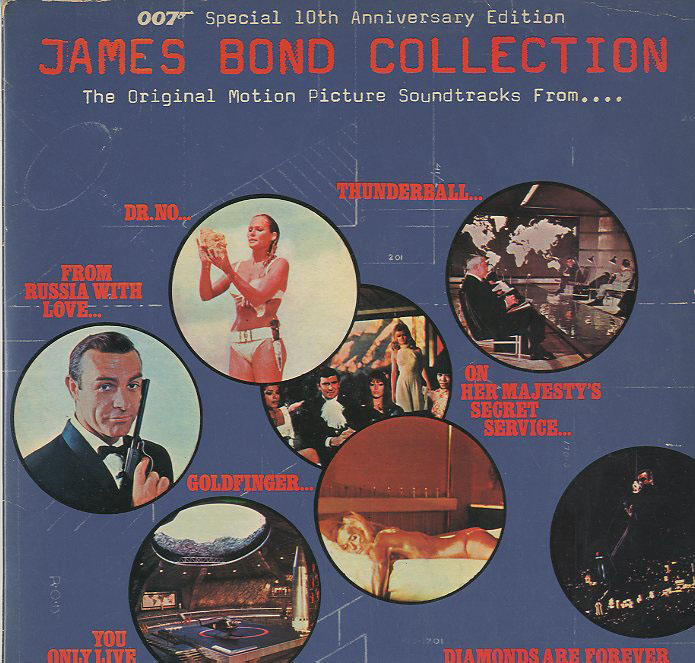 Albumcover James Bond - James Bond Collection - 007 Special 10th Anniversary Edition (DLP)