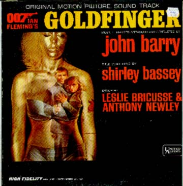 Albumcover James Bond - Goldfinger