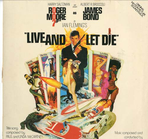 Albumcover James Bond - Live And Let Die