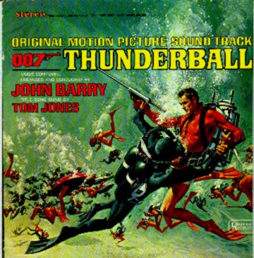 Albumcover James Bond - Thunderball