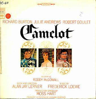 Albumcover Camelot - Original Broadway Cast mit Richard Burton und Julie Andrews