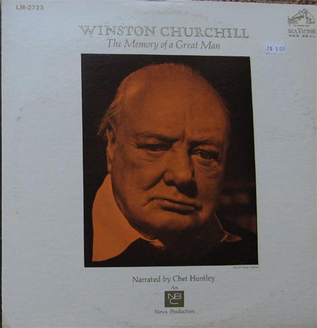 Albumcover Winston Churchill - The Memory of a Great Man