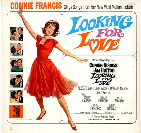 Albumcover Connie Francis - Looking For Love