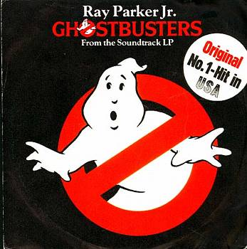 Albumcover Ghostbusters - Ray Parker Jr: Titelmelodie vom Soundtrack Album Ghostbusters + Instr. Version