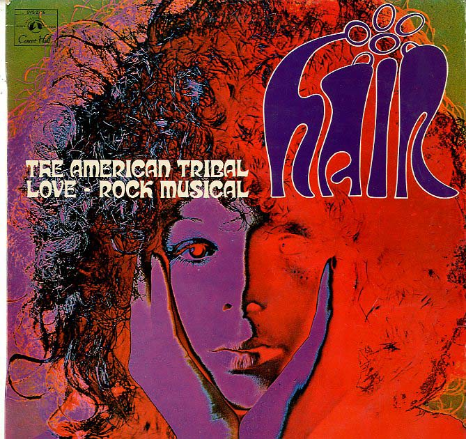 Albumcover Hair - Hair - The American Tribal Love-Rock Musical