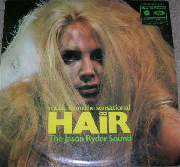 Albumcover Hair - Music from the Sensational Hair - The Jason Ryder Sound