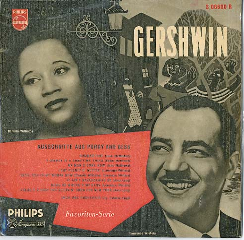 Albumcover Porgy And Bess - Ausschnitte aus Porgy And Bess (25 cm)
