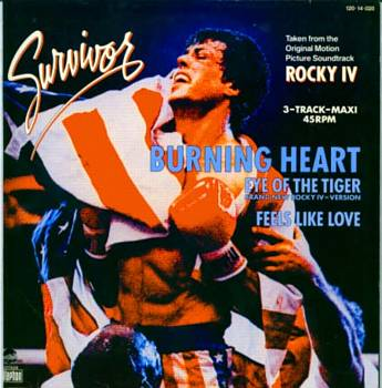 Albumcover Rocky - Aus dem Soundtrack Rocky IV Survivor: Feels Like Love /Burnin Heart
