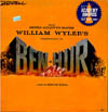 Cover: Ben Hur - Music From MGM William Wylers Presentation of Ben hur, Music By Miklos Rozsa