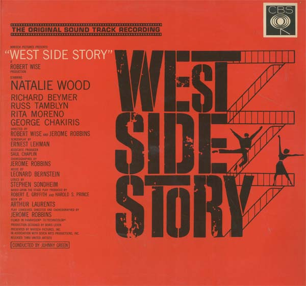 Albumcover West Side Story - Original Soundtrack Recording from the Motion Picture starring Natalie Wood and Richard Beymer, Rita Moreno, George Chakiris,