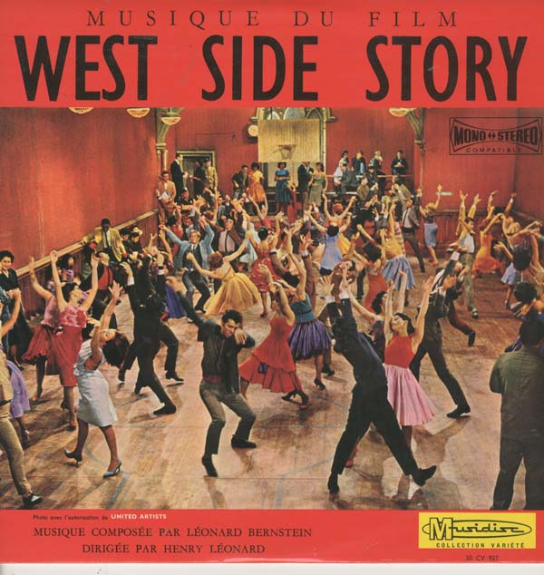 Albumcover West Side Story - Musique du film West Side Story