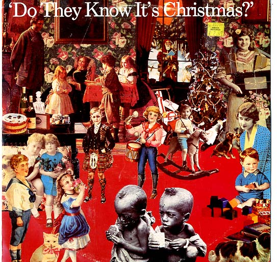 "Albumcover Band Aid - Do They Know Its Christmas  (Orig.): Remixed by Trevor Horn + Standard Mix + Feed The World<br>Maxi 12 "" 45 RPM"