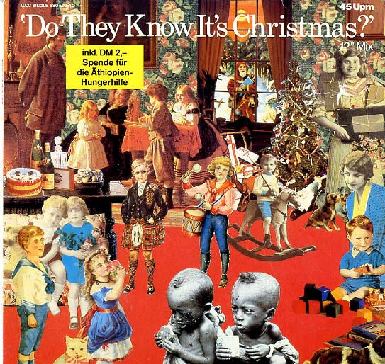 "Albumcover Band Aid - Do They Know Its Christmas (Standard Mix + Remix)/ Feed The World<br>Maxi 12 "" 45 RPM"