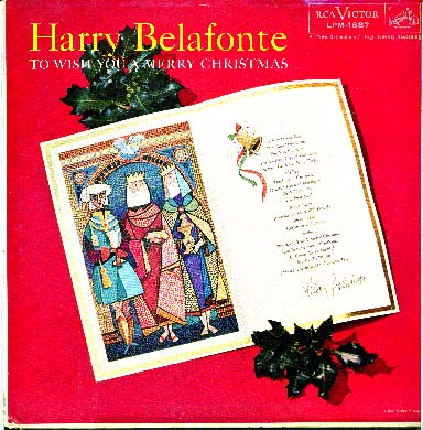 Albumcover Harry Belafonte - To Wish You A Merry Christmas