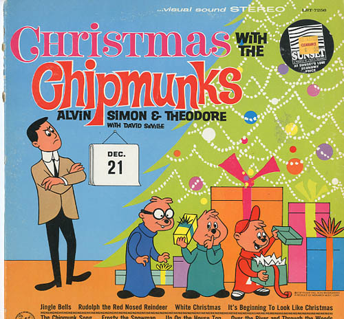Albumcover The Chipmunks - Christmas With the Chipmunks