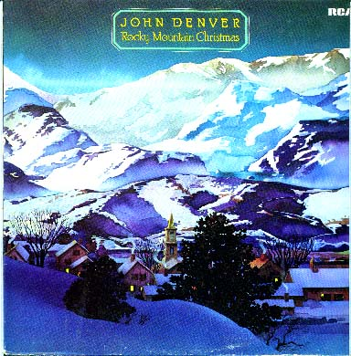 Albumcover John Denver - Rocky Mountain Christmas