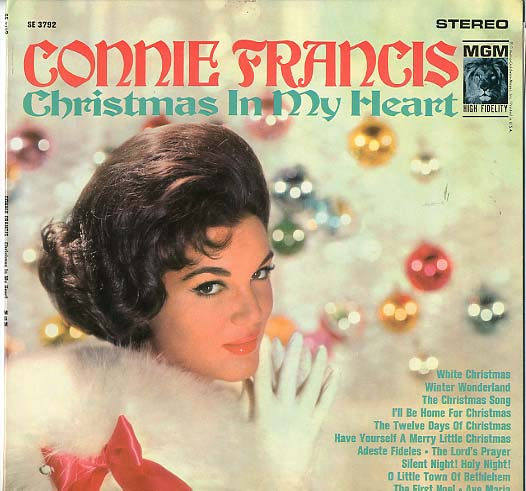 Albumcover Connie Francis - Christmas in My Heart (Diff. Cover)