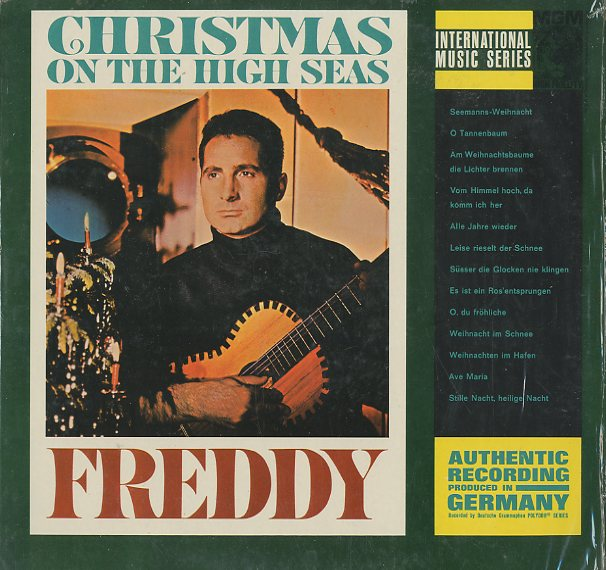 Albumcover Freddy (Quinn) - Christmas On the High Sees