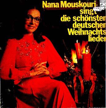 Die Schönsten Deutsche Weihnachtslieder.Herberts Oldiesammlung Secondhand Lps Nana Mouskouri Singt Die