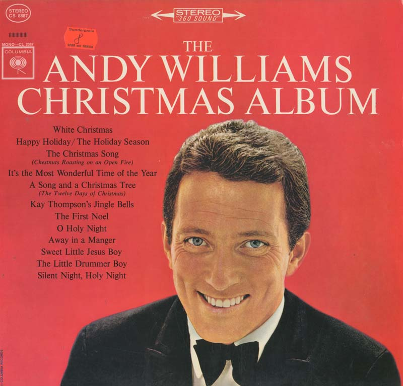 Albumcover Andy Williams - The Andy Williams Christmas Album